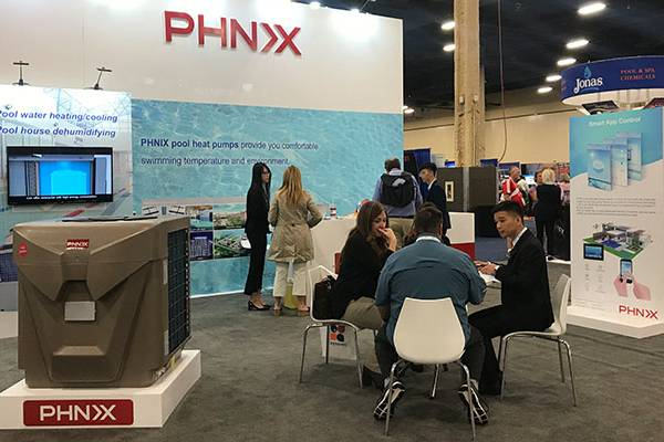 PHNIX Presents Innovative Heat Pump Pool Heating Solutions at Spa Pool Patio Expo