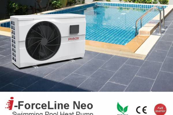 PHNIX i-ForceLine Neo Swimming Pool Heat Pump Heat Up Your Pool in No Time
