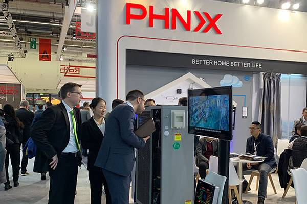 New PHNIX R32 EVI Inverter Heat Pump Attracts Great Attention on ISH Frankfurt 2019