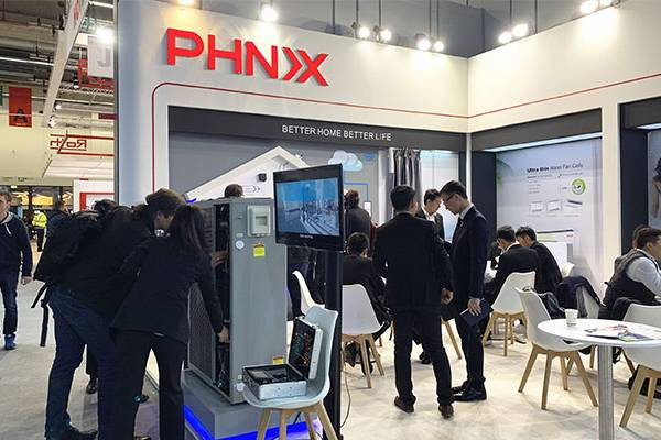 PHNIX New R32 Inverter EVI Heat Pump with A++ ErP Level to Release at ISH in Frankfurt