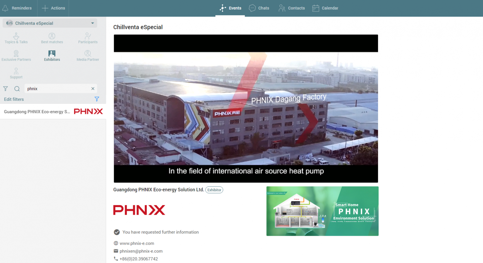 PHNIX Will Attend Chillventa eSpecial Online Exhibition