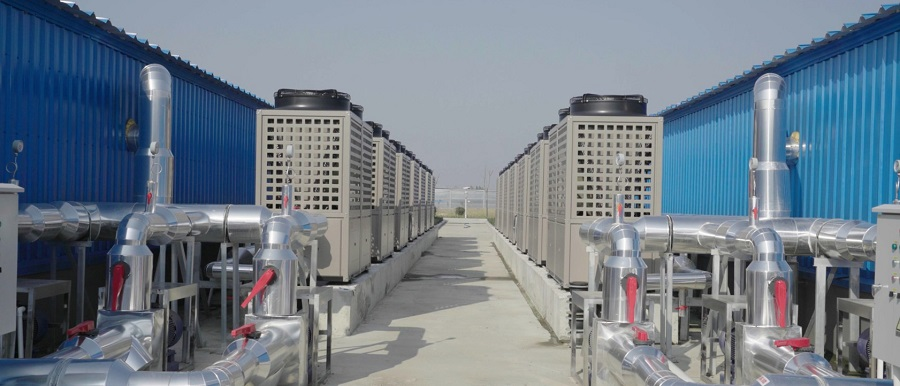 PHNIX Special Heat Pump Applied in The Largest Inland Marine Fish Farm in China